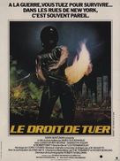 The Exterminator - French Movie Poster (xs thumbnail)