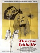 Therese and Isabelle - French Movie Poster (xs thumbnail)