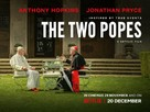 The Two Popes - British Movie Poster (xs thumbnail)