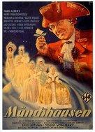 Münchhausen - German Movie Poster (xs thumbnail)