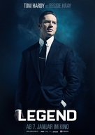 Legend - German Movie Poster (xs thumbnail)