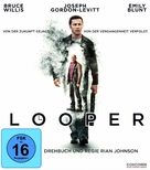 Looper - German Blu-Ray cover (xs thumbnail)