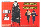 Jules Et Jim - Belgian Movie Poster (xs thumbnail)