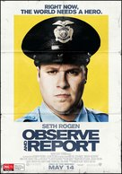 Observe and Report - Australian Movie Poster (xs thumbnail)