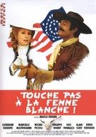 Touche pas à la femme blanche - French DVD cover (xs thumbnail)