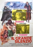 Il grande silenzio - Italian Movie Poster (xs thumbnail)