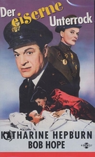 The Iron Petticoat - German Movie Cover (xs thumbnail)