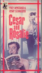 César et Rosalie - VHS movie cover (xs thumbnail)