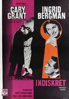 Indiscreet - Swedish Movie Poster (xs thumbnail)