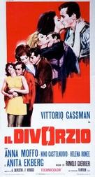 Il divorzio - Italian Movie Poster (xs thumbnail)
