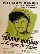 Johnny Holiday - Danish Movie Poster (xs thumbnail)