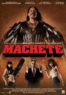 Machete - Dutch Movie Poster (xs thumbnail)