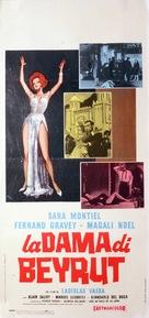 La dama de Beirut - Italian Movie Poster (xs thumbnail)