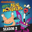"""Aaahh!!! Real Monsters"" - DVD movie cover (xs thumbnail)"