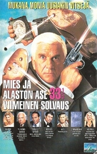 Naked Gun 33 1/3: The Final Insult - Finnish VHS cover (xs thumbnail)