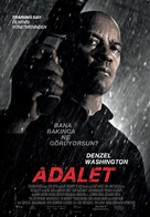 The Equalizer - Turkish Movie Poster (xs thumbnail)