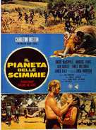 Planet of the Apes - Italian Movie Poster (xs thumbnail)