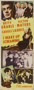 I Wake Up Screaming - Movie Poster (xs thumbnail)