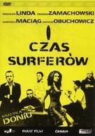 Czas surferów - Polish DVD cover (xs thumbnail)