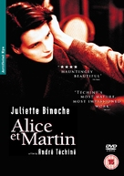 Alice et Martin - British DVD movie cover (xs thumbnail)