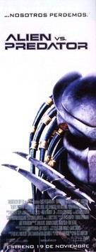 AVP: Alien Vs. Predator - Spanish Movie Poster (xs thumbnail)