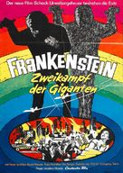 Furankenshutain no kaijû: Sanda tai Gaira - German Movie Poster (xs thumbnail)