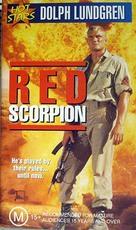 Red Scorpion - Australian VHS movie cover (xs thumbnail)