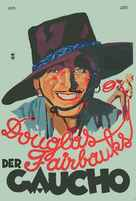 The Gaucho - German Movie Poster (xs thumbnail)