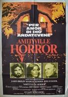 The Amityville Horror - Italian Movie Poster (xs thumbnail)