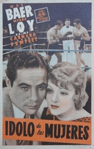 The Prizefighter and the Lady - Spanish Movie Poster (xs thumbnail)