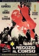 Obchod na korze - Italian DVD movie cover (xs thumbnail)