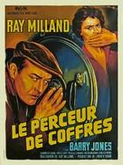 The Safecracker - French Movie Poster (xs thumbnail)