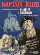Captain Kidd - Danish Movie Poster (xs thumbnail)