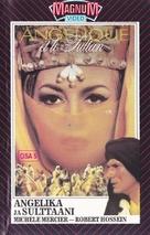 Angélique et le sultan - Finnish VHS movie cover (xs thumbnail)