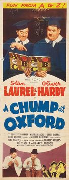 A Chump at Oxford - Re-release poster (xs thumbnail)