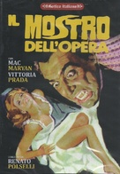Mostro dell'opera, Il - Italian DVD cover (xs thumbnail)