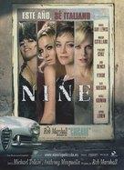 Nine - Spanish Movie Poster (xs thumbnail)