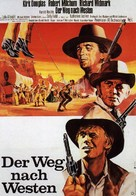 The Way West - German Movie Poster (xs thumbnail)
