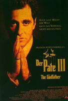 The Godfather: Part III - German Movie Poster (xs thumbnail)