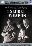 Sherlock Holmes and the Secret Weapon - DVD movie cover (xs thumbnail)