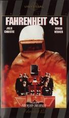 Fahrenheit 451 - Spanish DVD cover (xs thumbnail)