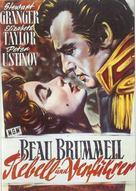 Beau Brummell - German Movie Poster (xs thumbnail)