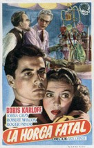The Man They Could Not Hang - Spanish Movie Poster (xs thumbnail)