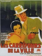 City Streets - Belgian Movie Poster (xs thumbnail)