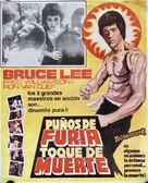 Fist of Fear, Touch of Death - Mexican Movie Poster (xs thumbnail)