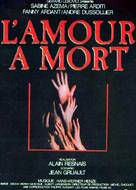 Amour à mort, L' - French Movie Poster (xs thumbnail)