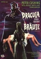 The Brides of Dracula - German Movie Poster (xs thumbnail)