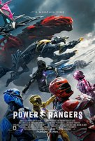 Power Rangers - Icelandic Movie Poster (xs thumbnail)