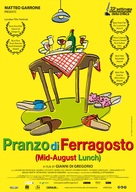 Pranzo di ferragosto - Dutch Movie Poster (xs thumbnail)