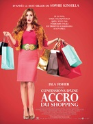 Confessions of a Shopaholic - French Movie Poster (xs thumbnail)